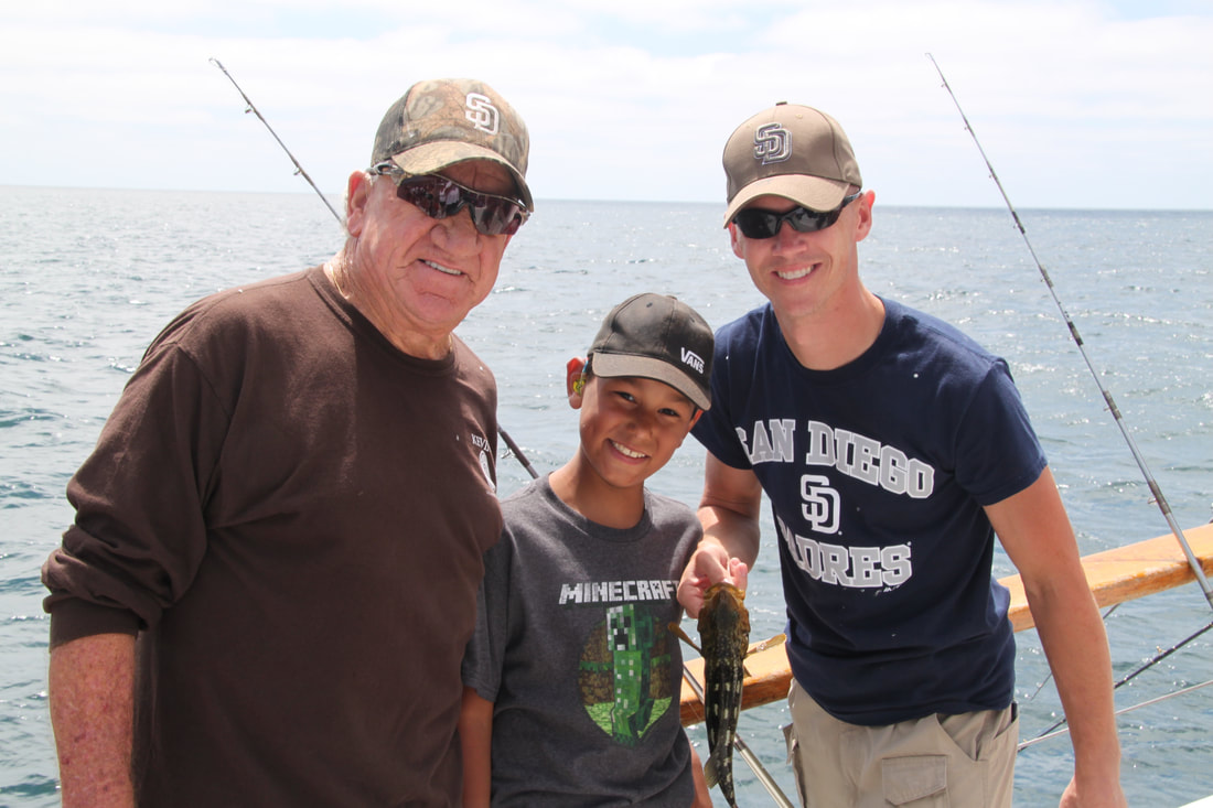 Fishing trip for Randys fishing trips